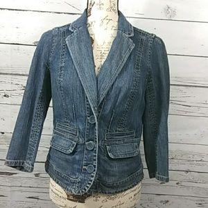 Calvin Klein Jeans jean blazer sz M